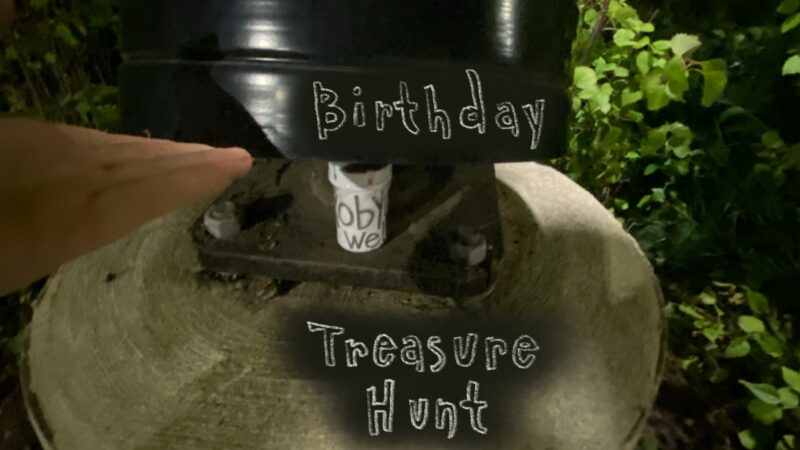 AMAZING BIRTHDAY PRESENT MYSTERY TREASURE HUNT OMG!!1!