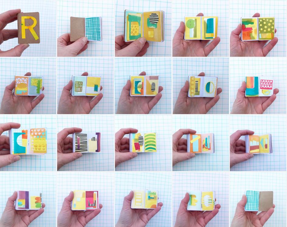 Tiny Sketchbook Project