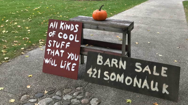 Barn Sale/ Trunk Show