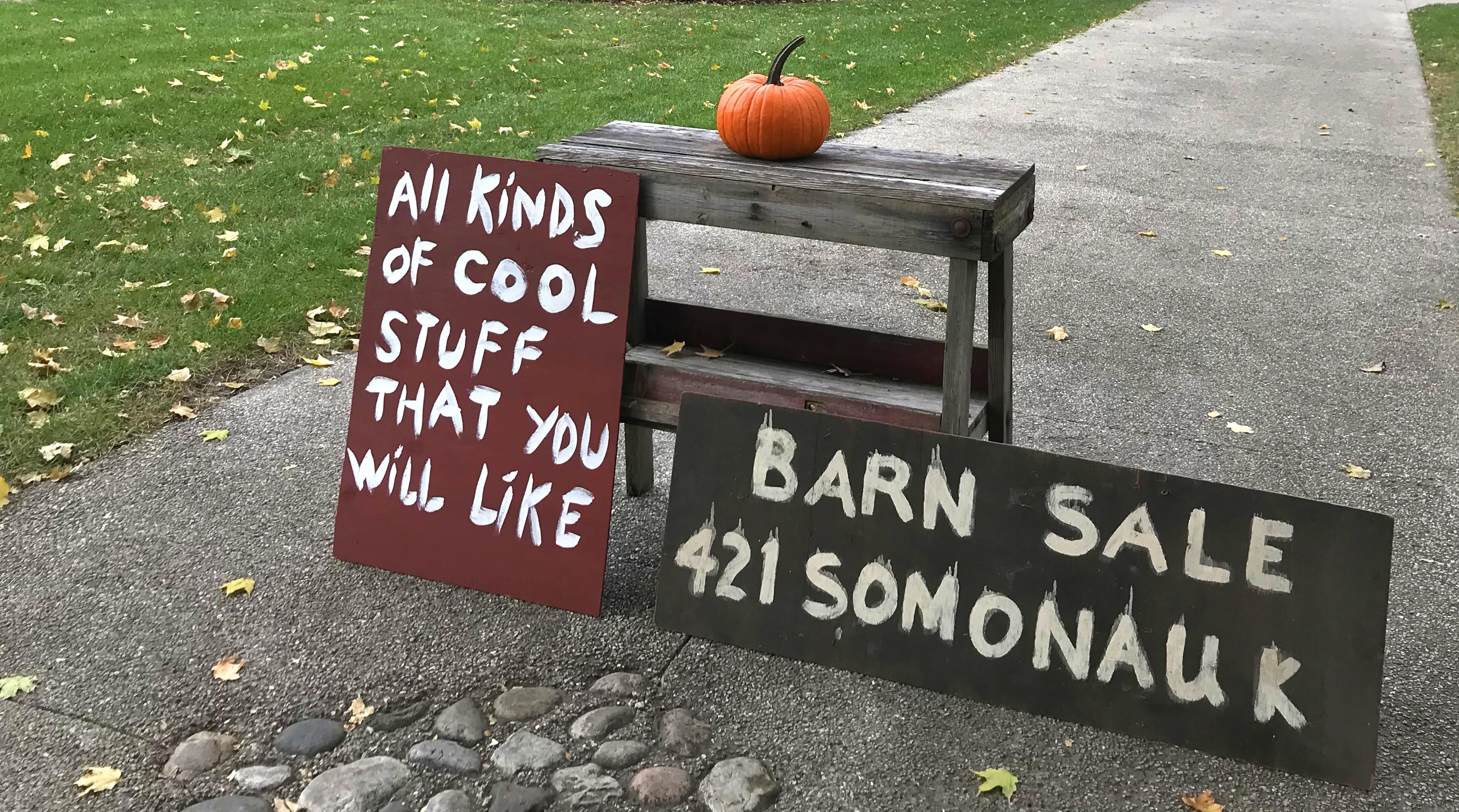 Barn Sale/ Trunk Show