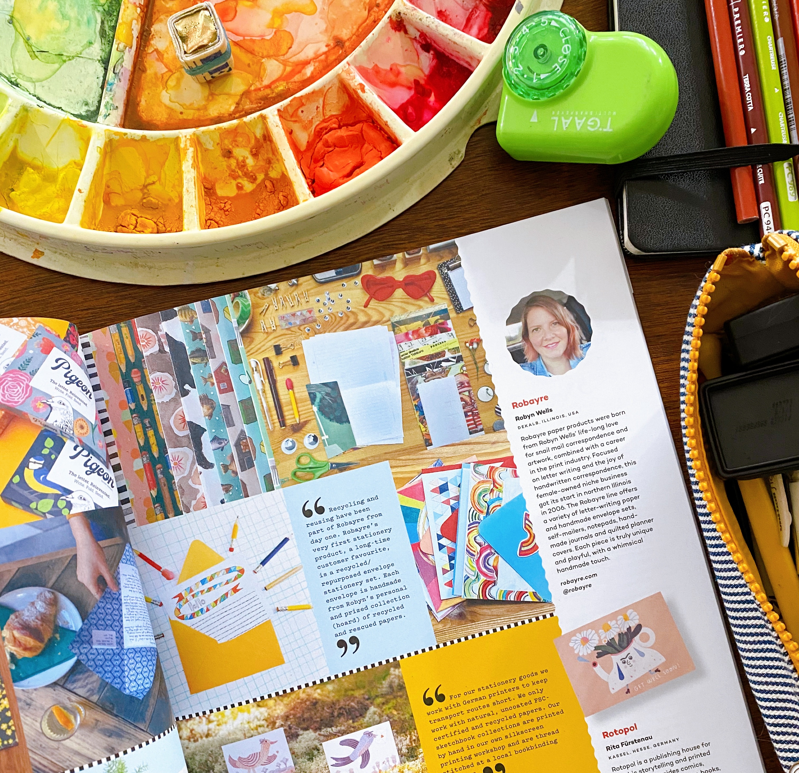 Uppercase Magazine Feature